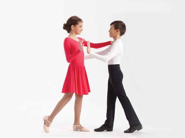 Mädchen-Tanzkleid 8027